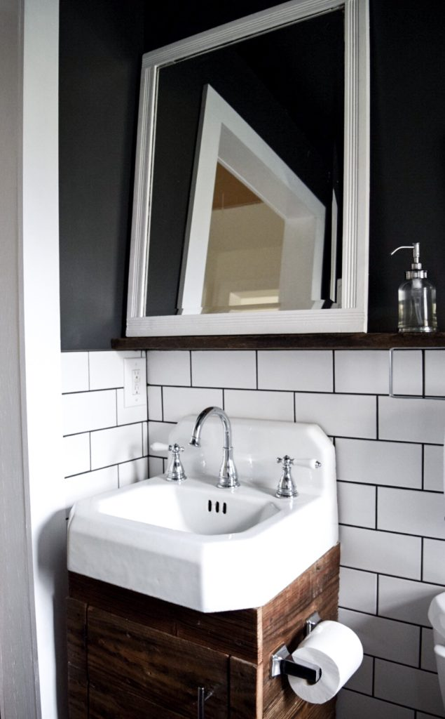 Our small bathroom remodel before and after a small life - Small bathroom remodel with tub ...